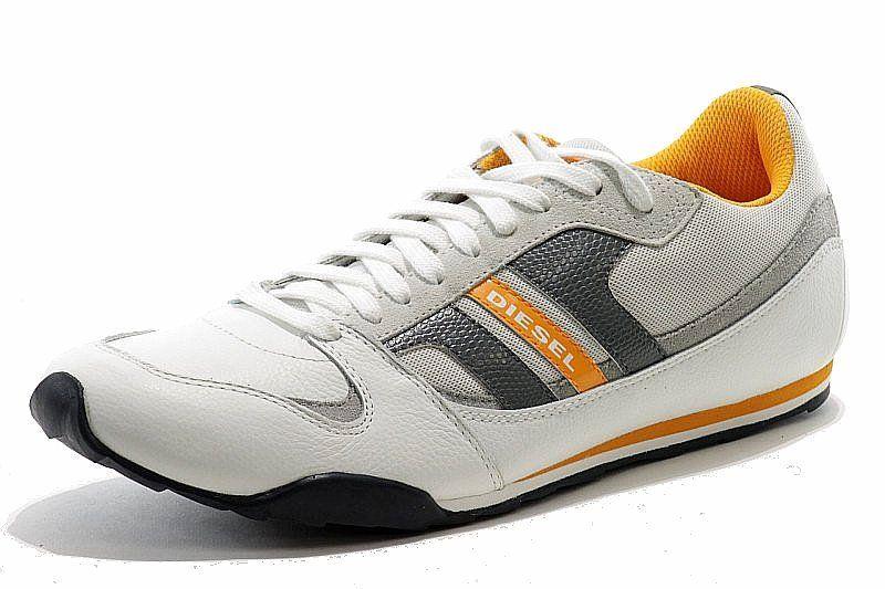 Diesel men's fashion sneakers gunner shoe. Comfortable inner padding for shock…