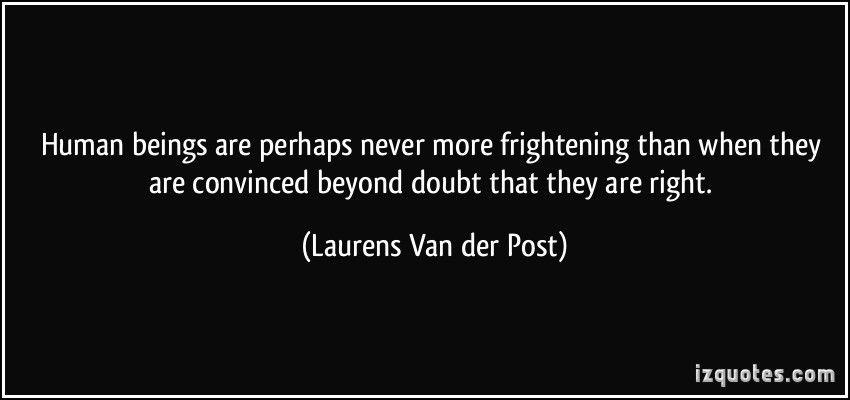 Laurens Van der Post #truth