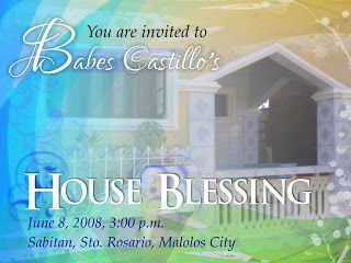 House Blessing Invitations Found At Yajooh See My Ceremonies At Www