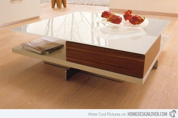 10 modern center tables made from wood for a living room home idea rh pinterest com