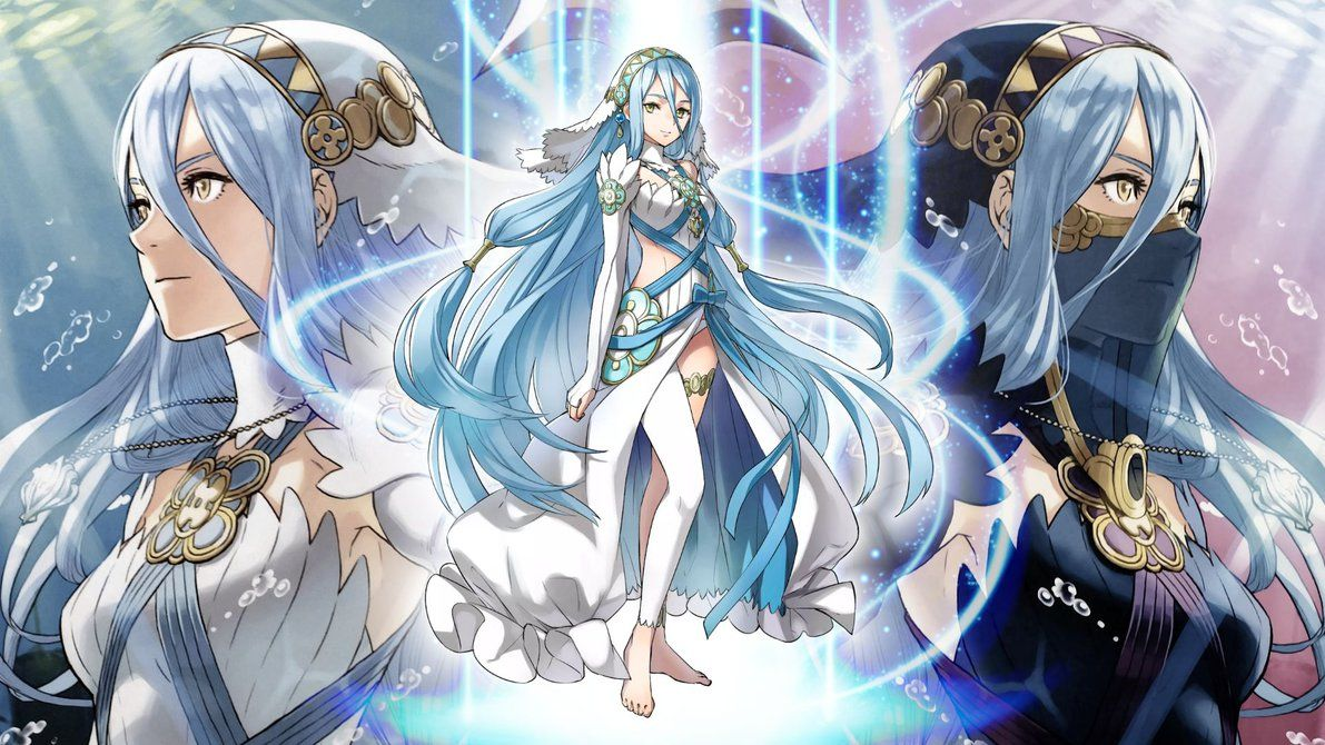 Fire Emblem Heroes Wallpaper Azura By Incognitoza Deviantart Com