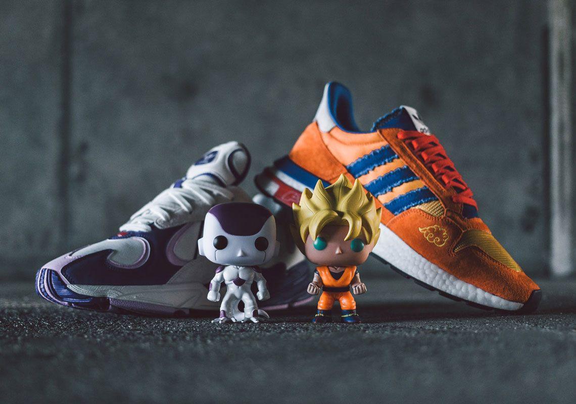 "7681633d72d Dragon Ball Z x Adidas YUNG-1 ""Frieza"" Dragon Ball Z x Adidas ZX 500 RM  ""Son Goku"""