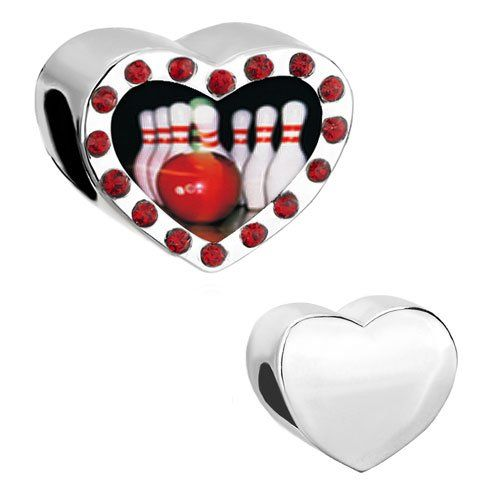 I Love Bowling Charms For Pandora Bracelet Pinterest
