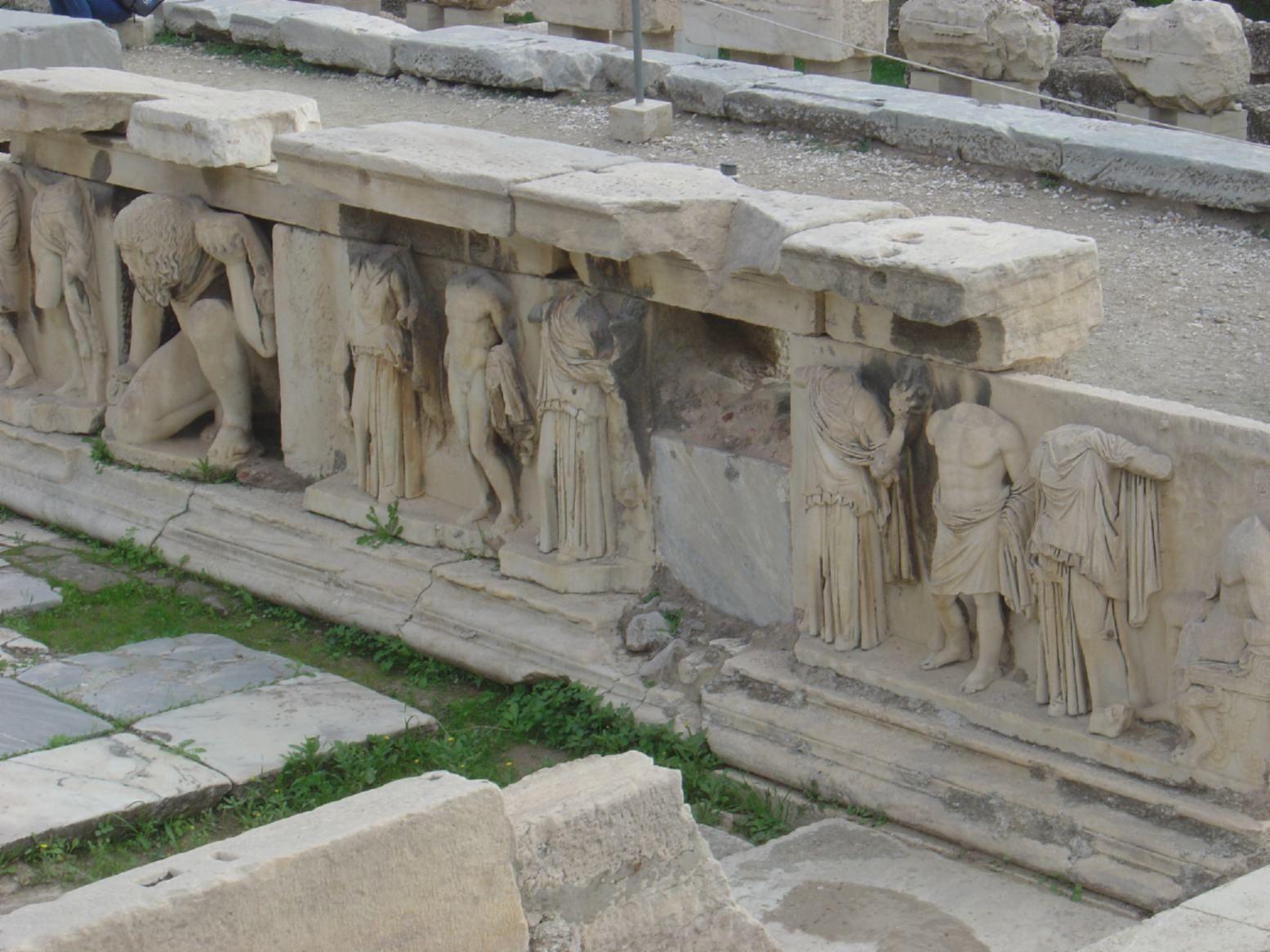 Athens Theatre Of Dionysos Acropolis