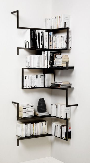 black open shelf on a white wall you can never go wrong with a rh pinterest com