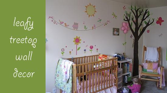 fabric tree nursery decor peekaboo pages blog nursery decor rh pinterest com