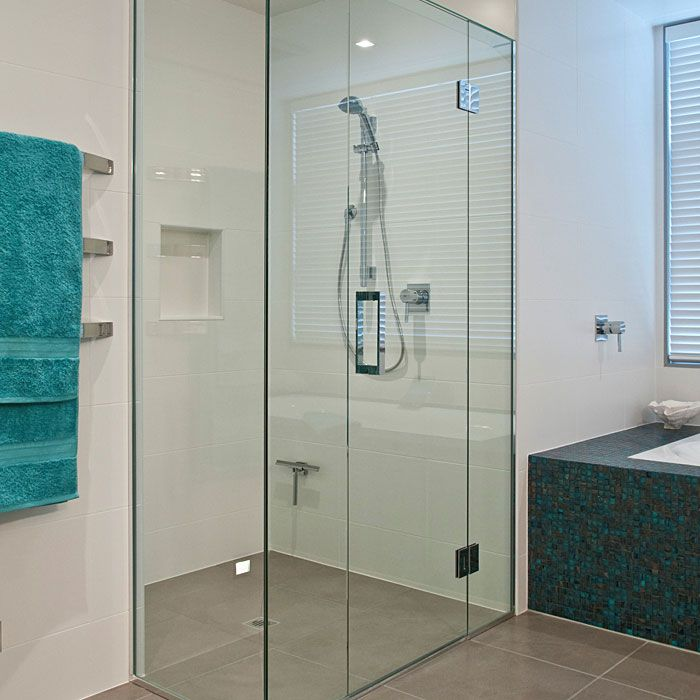 Home Lower Level Glass Shower Doors Glass Shower