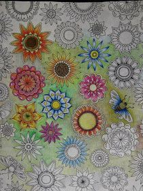 Passion for Pencils: My Secret Garden colouring book, part 6 Testing ...