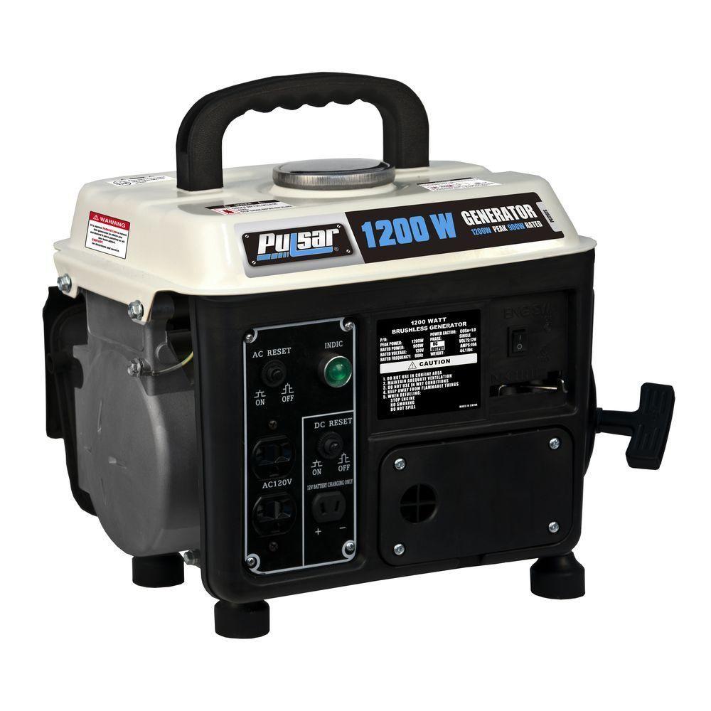 pulsar 1 200 900 watt gasoline oil mix powered recoil start portable rh pinterest com