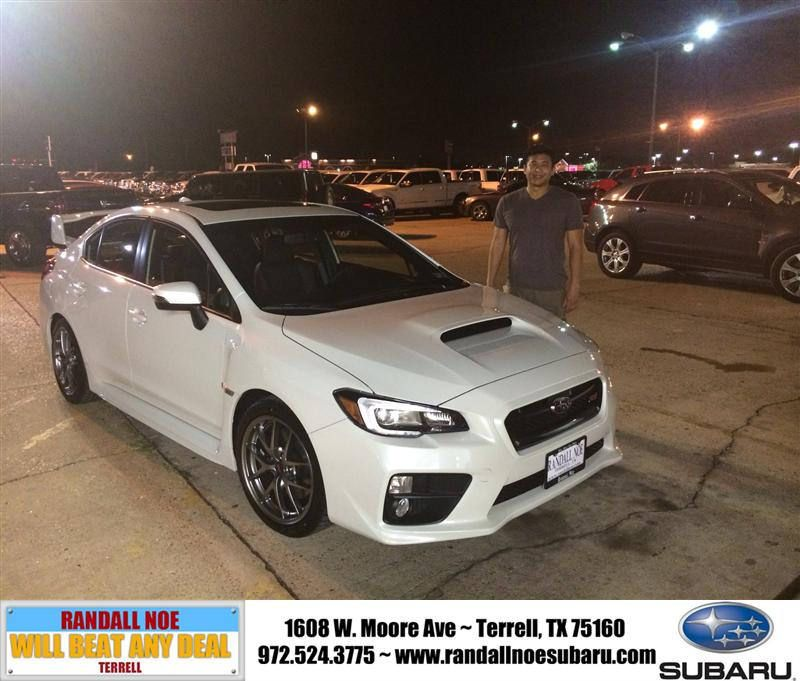 congratulations to chun der li on your subaru wrx sti purchase rh pinterest com