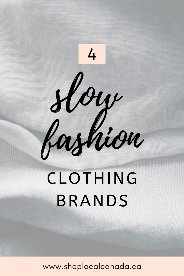 4 Ethical Canadian Clothing Brands Shop Local CANADA in