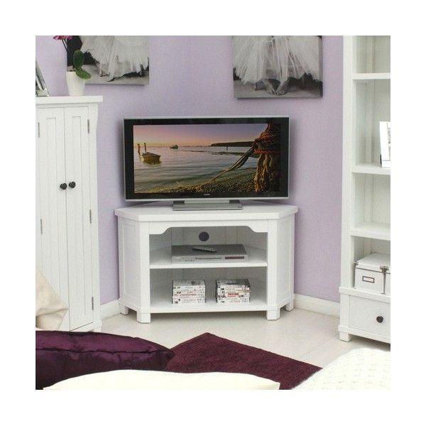 hampton white corner tv unit by baumhaus h o m e i n s p o rh pinterest ca