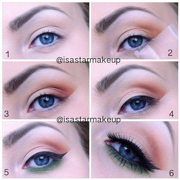 Красивый дневной макияж глаз поэтапно 51