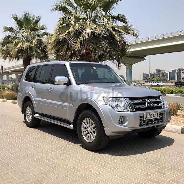 Dubizzle Dubai Pajero Verified Car Mitsubishi Pajero Gls  Full Service History Gcc Specs Car Expat Owner