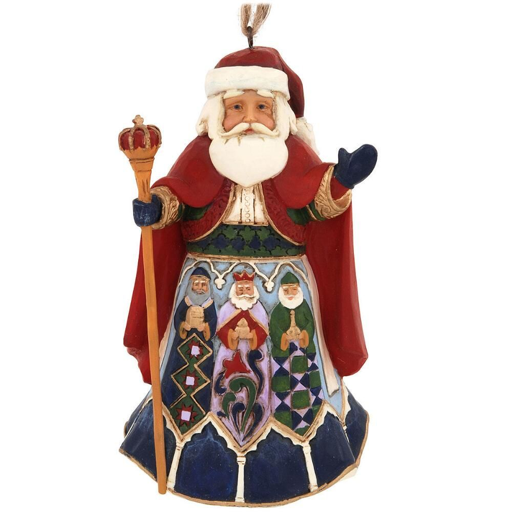 Jim Shore Spanish Santa Ornament $22.00 | Santa ornaments ...