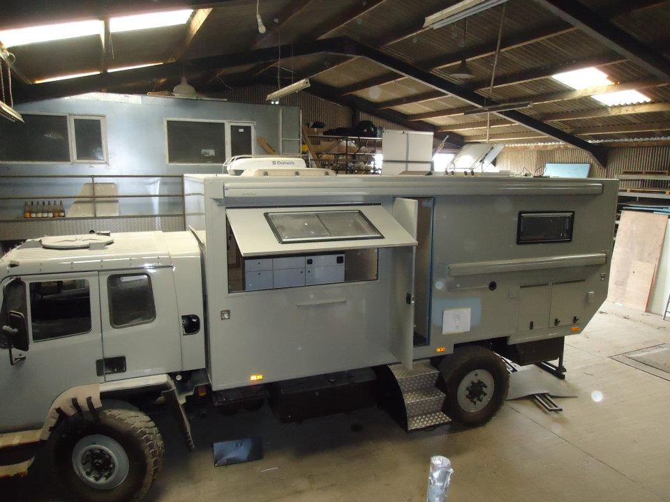Overland Vehicles Ltd Off Road Camper Campervan Conversions