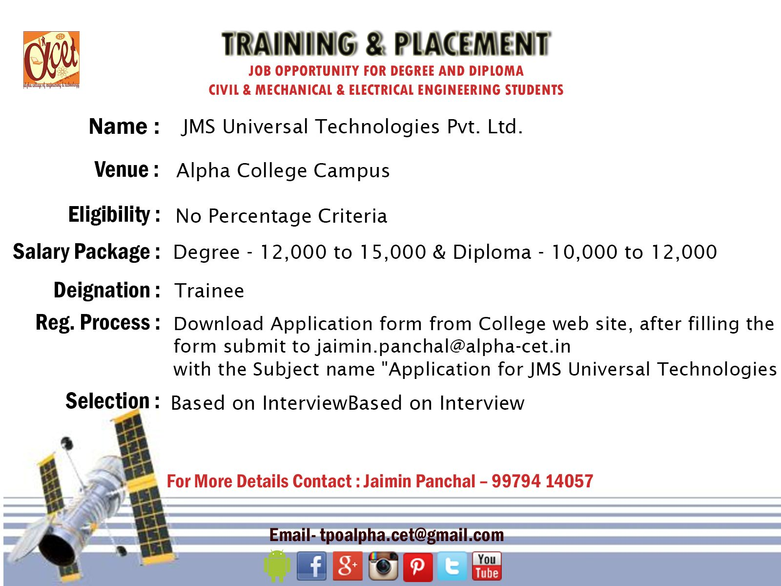 1d0ab07c75b2cd2ee070084b9012cedc - Application For Industrial Training Placement