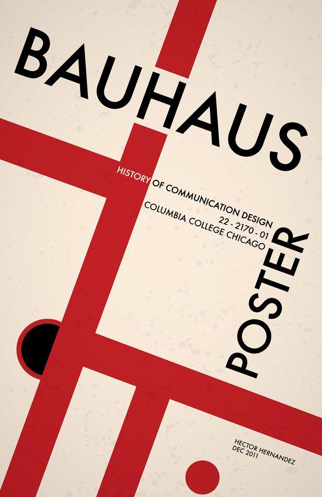 Photo of BAUHAUS POSTER