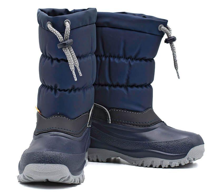 Sniegowce Dzieciece Z Wkladem Buty Zimowe Ocieplane Polskie Demar Lucky A Boots Shoes Winter Boot