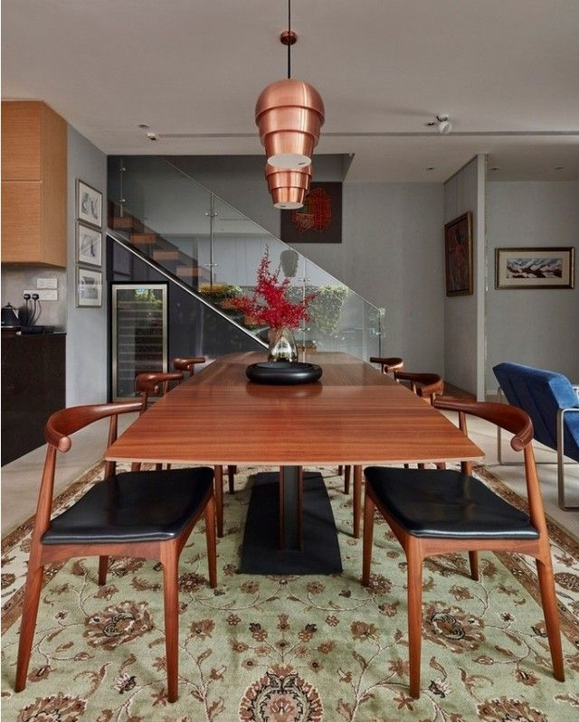 asian inspired interior design modern and clasical dinning room rh pinterest com