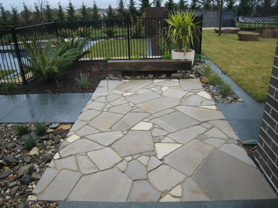 crazy about crazy paving ideas for the garden outdoor paving rh pinterest com