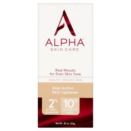 Alpha Skin Care Dual Action Skin Lightener 85 Oz Skin Lightener Skin Care Natural Skin Lightening