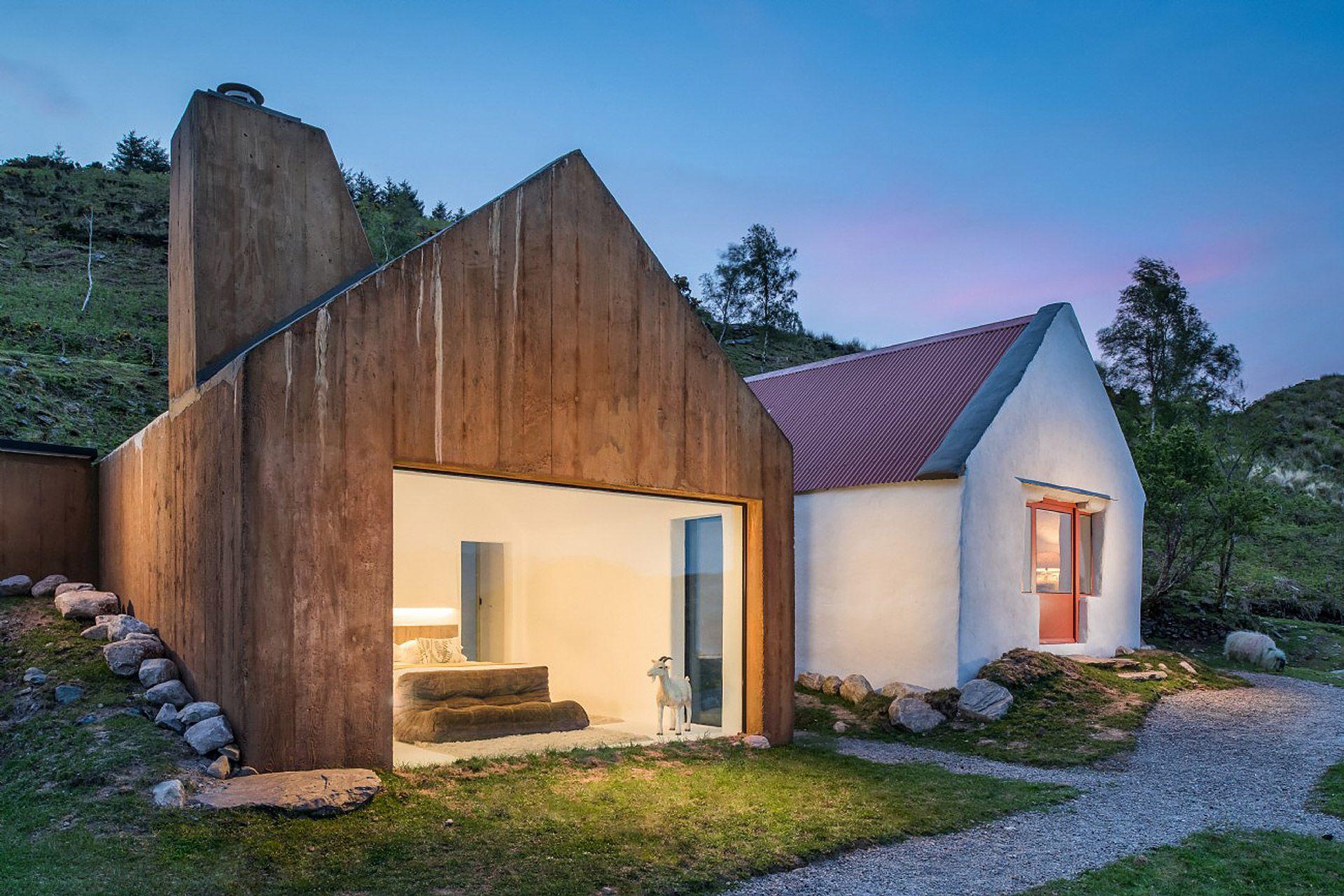 lost cottage cabin in the woods modern cottage irish cottage rh pinterest com