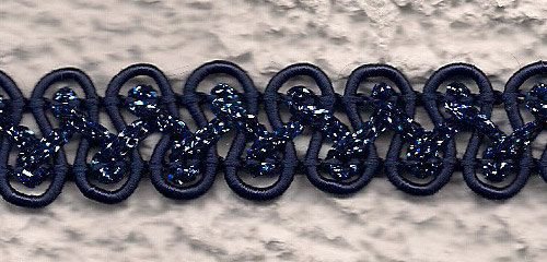 Passamaneria blu oltremare a onde con di ManifatturadiBreme, €7.66. Negozio Etsy http://www.etsy.com/shop/ManifatturadiBreme