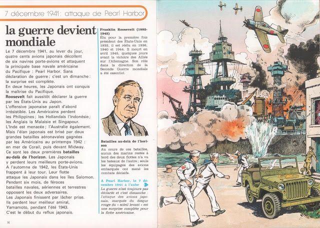 La guerre de 39-45 (Histoire Juniors) | Histoire junior, Guerre, Pearl harbor