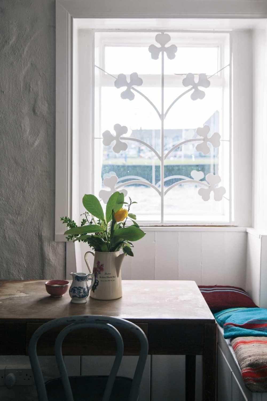 ard-bia-nimmos-galway-ireland-love this metal gate on window ...