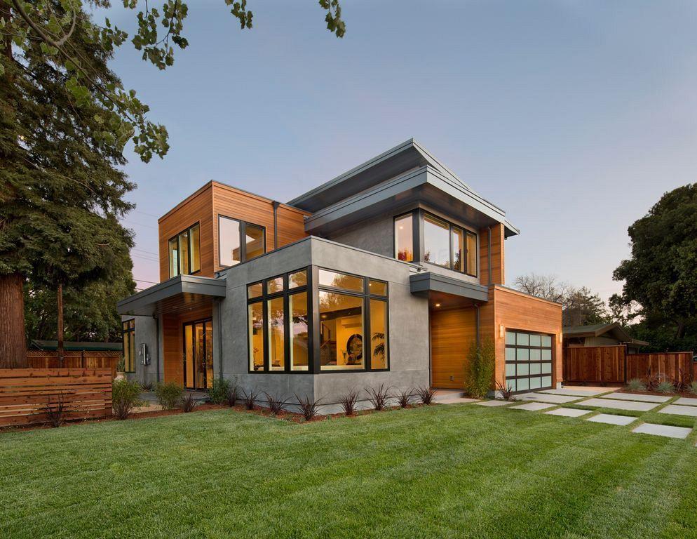 20 Contemporary Homes Design With Cedar Siding Modern House Outside Design Contemporary House Design House Designs Exterior