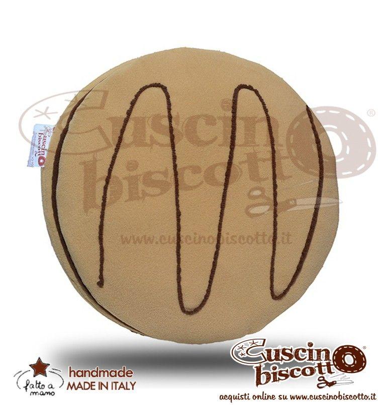 Cuscino Biscotto - Bombolino (Fatto a mano)