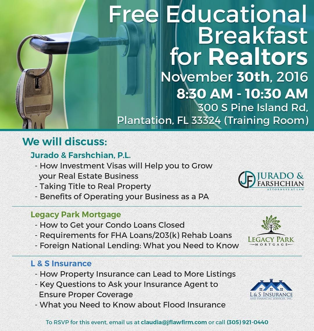 Hey Realtors Jflawfirm Along With Legacy Park Mortgage And L S