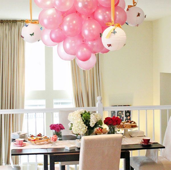 High Quality Frills And Ruffles Fashion Blog 100th Entry Party Decor