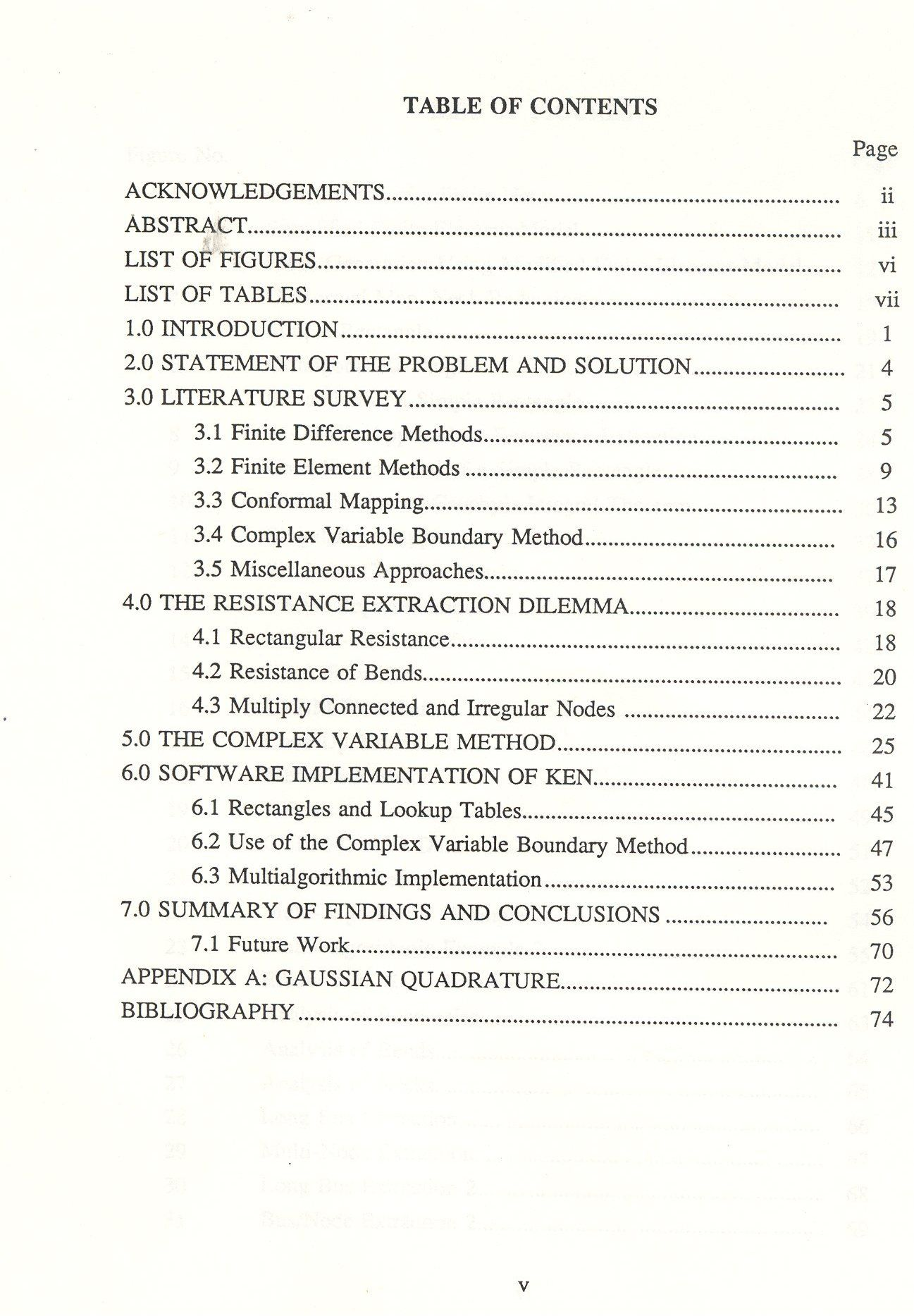How to write a contents page for a dissertation