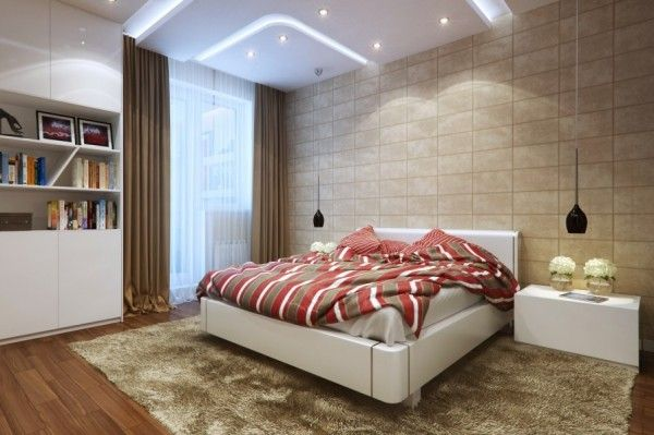 Small Bedrooms Use Space in a Big Way | Bedrooms, Lights and Spaces