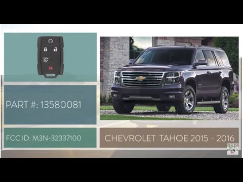 How To Change A 2015 2019 Chevy Tahoe Key Fob Battery Part