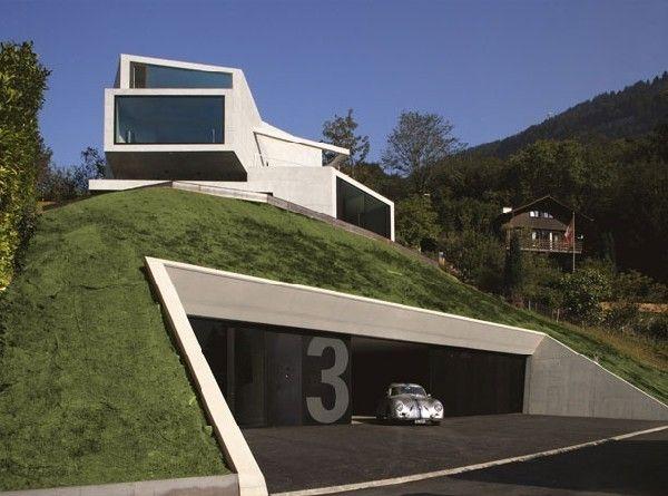 #Garage #Porsche #House #Architecture