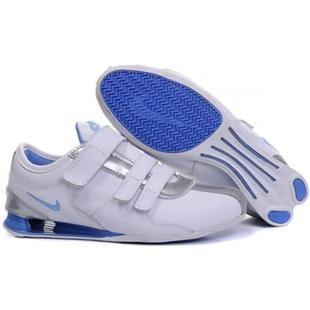 san francisco 976f2 bb455 316316 008 Nike Shox Rivalry White Blue J12008