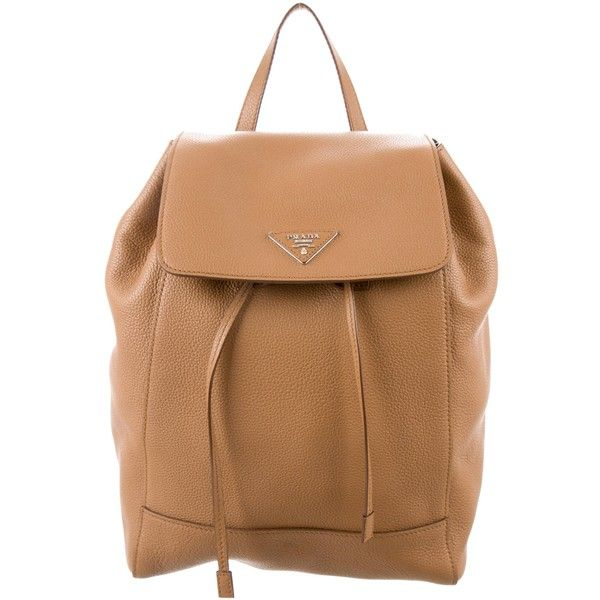 f5be0ac30cda official prada nylon drawstring backpack eb218 f1eea  low price pre owned  prada vitello daino drawstring backpack 895 liked on polyvore featuring  5dd8a ...