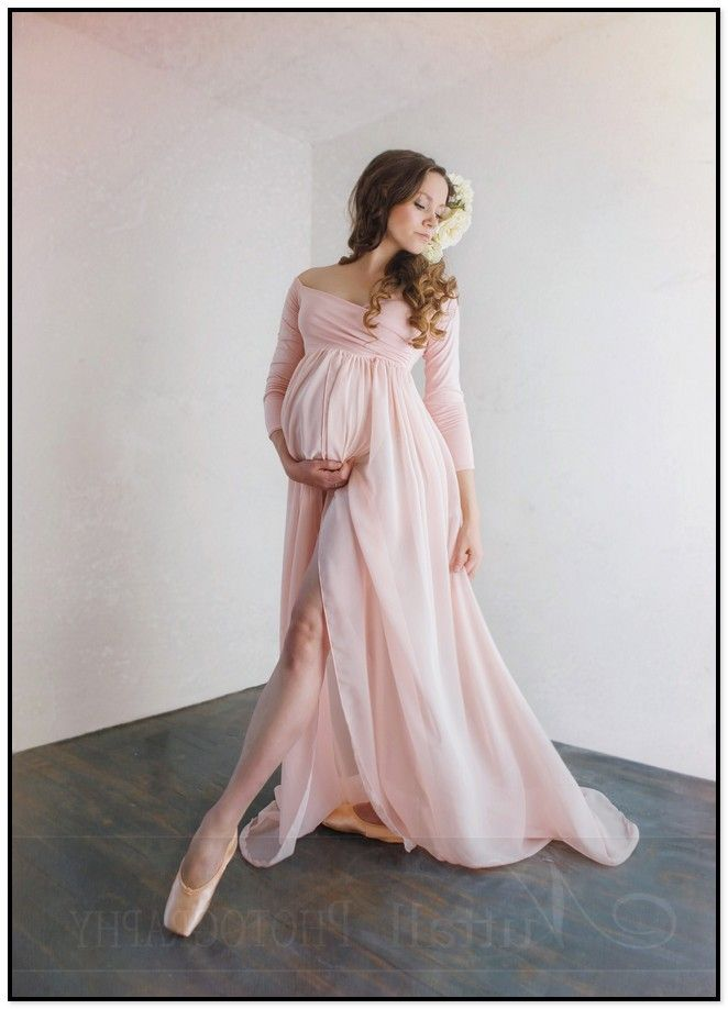 090b6b9260484 Long Flowy Maternity Dresses | My Style | Maternity gowns, Maternity ...