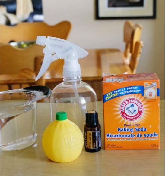 NonToxic Air Freshener Ingredients 2 cups hot water, 1/8