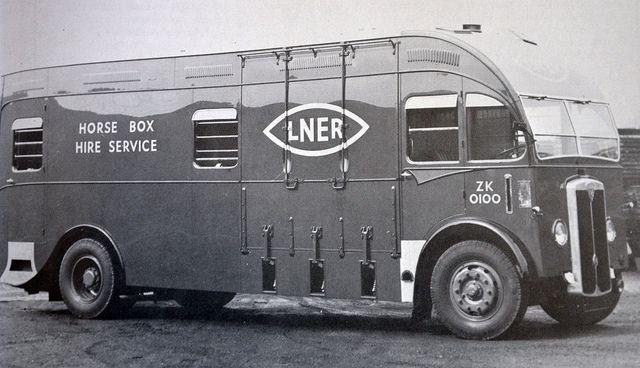 1947 maudslay horse box lner