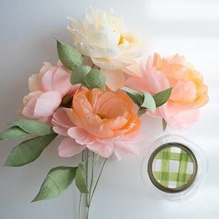 Diy crepe paper english rose crepe paper crepes and english diy crepe paper english rose mightylinksfo Gallery
