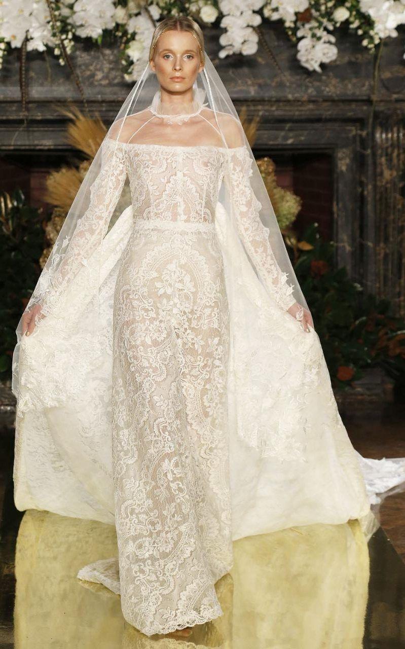 The dreamiest dresses from bridal fashion week fashion pinterest