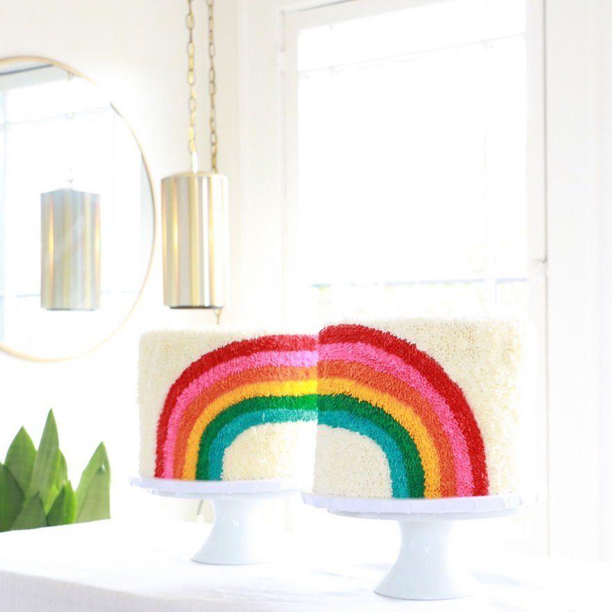 Die Neustaffelansprache Von Jan Bohmermann Rainbow Cake
