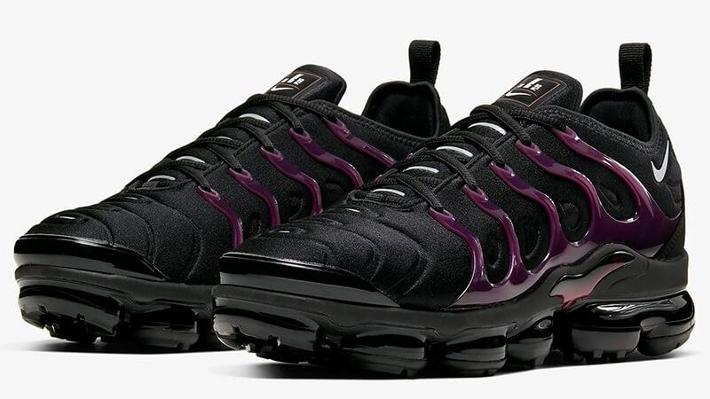 Nike Air Vapormax Plus Black Purple Where To Buy 924453 021 The Sole Supplier Nike Air Max Plus Nike Air Nike Air Vapormax
