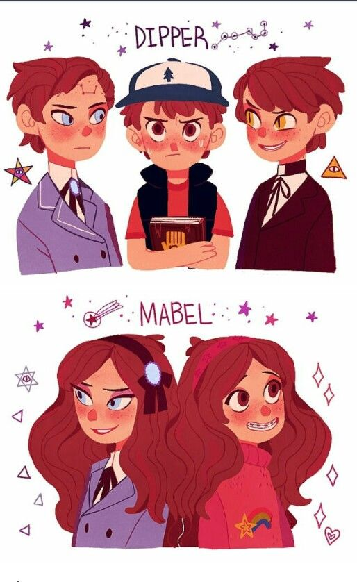 Gravity falls dipper and mabel reverse falls and bipper gravity falls pinterest anim for Farcical reversal