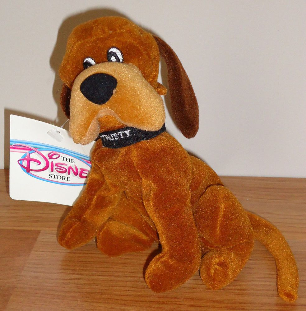 Details About Disney Dog Trusty 8 Beanbag Plush Puppy Dog From Lady The Tramp New W Tag Disney Dogs Dogs And Puppies Disney
