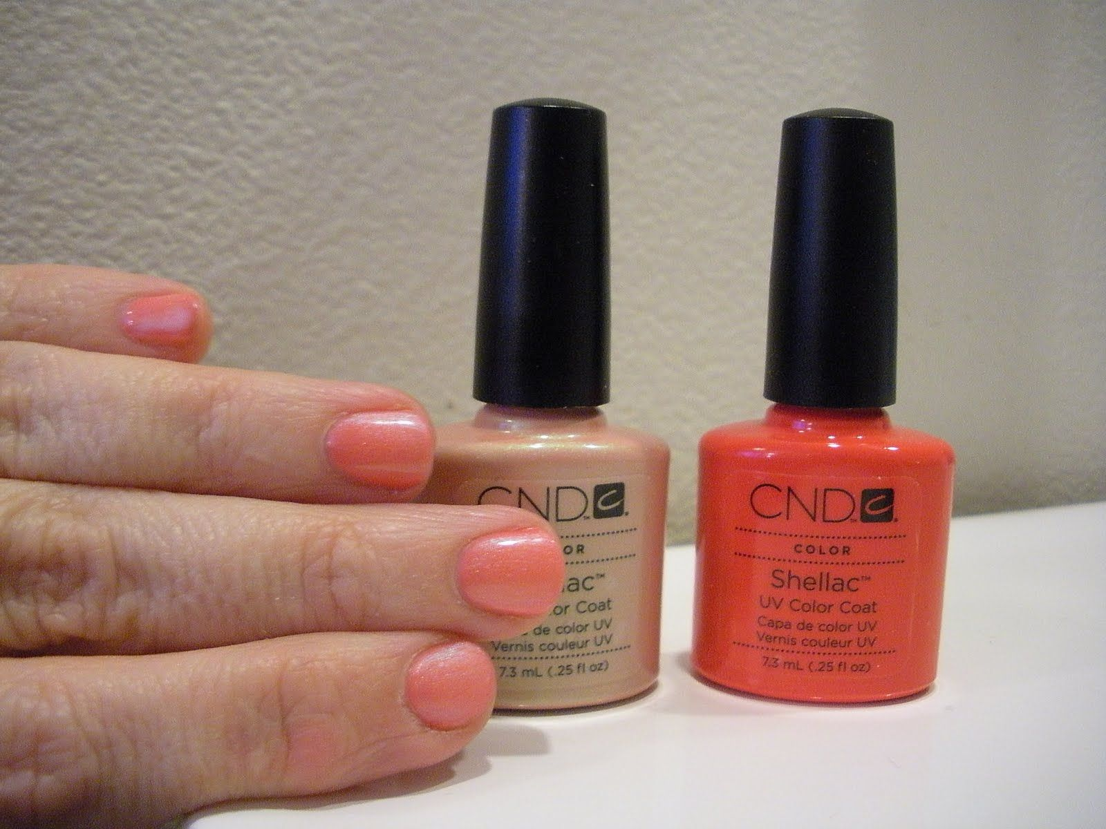 CND Shellac Layering | Polish Addict <3 | Pinterest